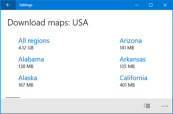 How to Download and Use Offline Maps in Windows 10
