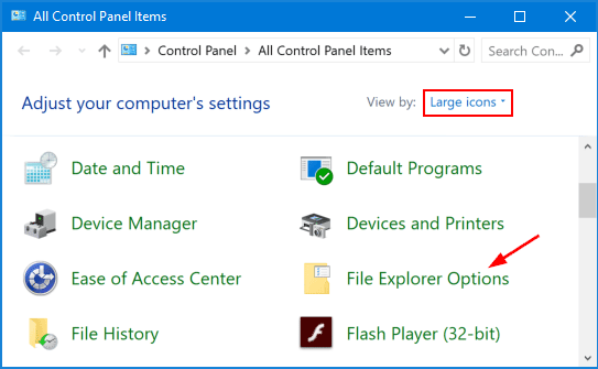 4 Ways to Open Folder Options in Windows 10, 8 and 7