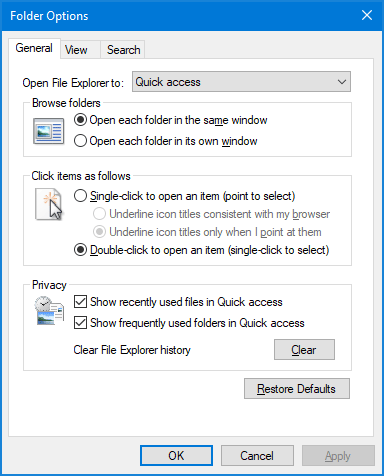 4 Ways to Open Folder Options in Windows 10, 8 and 7 ...