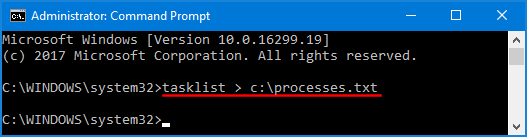 Check Running Processes Windows Command Line | Password Recovery