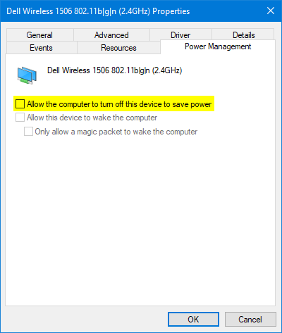 Fix: Windows 10 / 8 Lose Wi-Fi Connection After Sleep