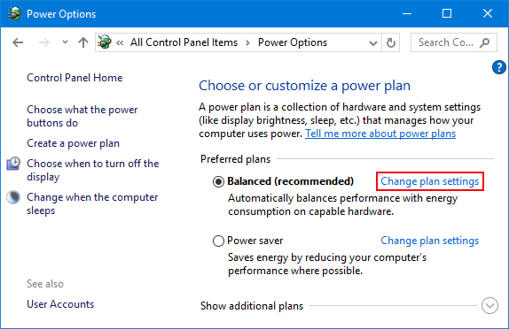Set Windows to Power On / Off USB Devices in Sleep Mode