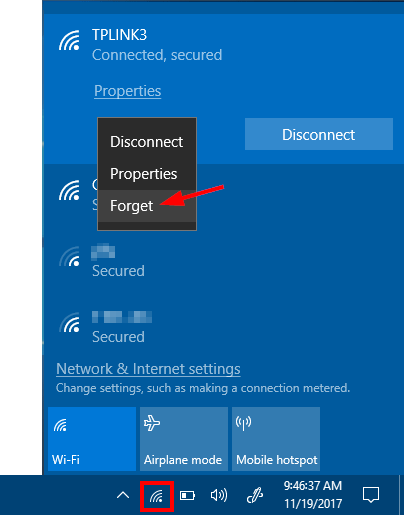 hack wifi password using windows 10