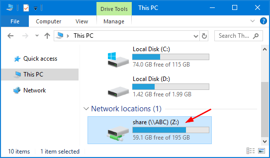 How to Map a Network Drive in Windows 10 | Pword Recovery Map Network Drive Windows on windows windows 8, windows map hard drive, windows internet explorer, windows remote desktop connection, windows tools,