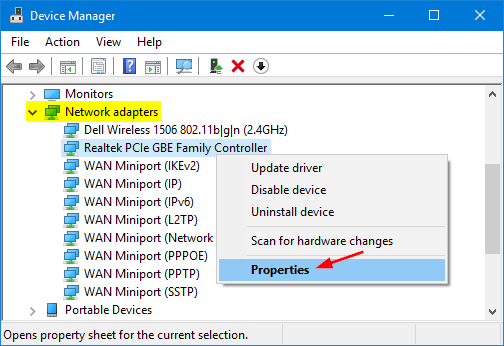 How to reset the ip address on windows 7