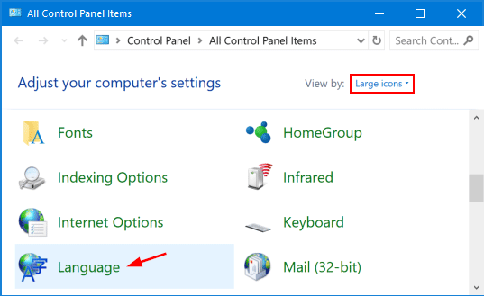 How to Change Input Language Using Keyboard Shortcut in Windows 10