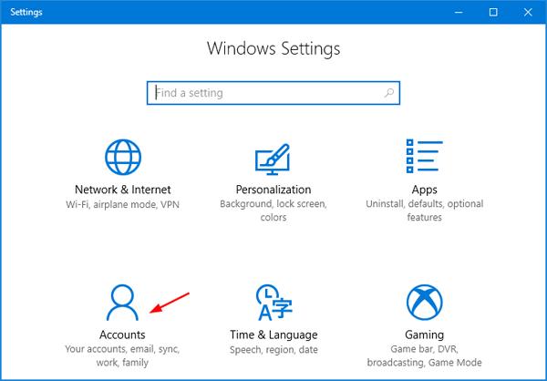 remove microsoft work account from windows 10
