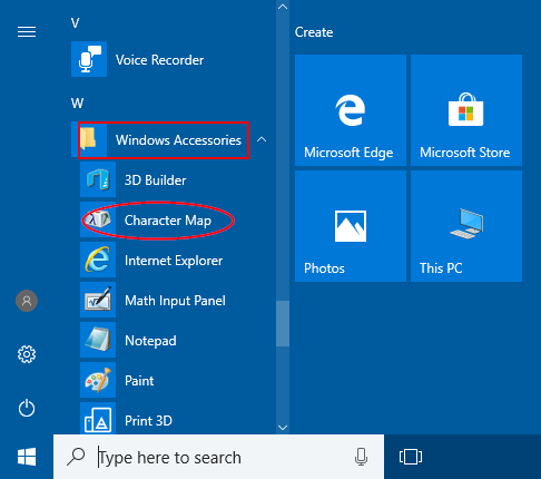 Easy Ways to Open Character Map in Windows 10 | Password Recovery