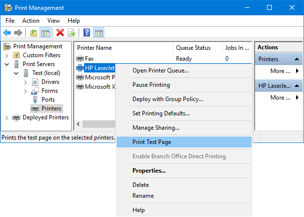 How to Open Print Management in Windows 10 / 8 / 7 | Password Recovery