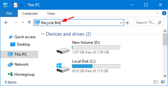 5 Ways to Empty Recycle Bin in Windows 10 | Password Recovery