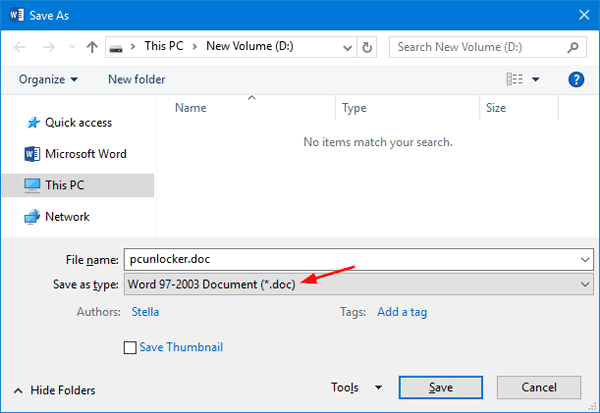 How to Convert Word Document Between  Doc and  Docx