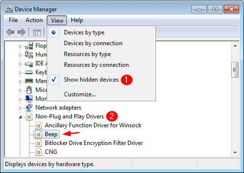 Disable Beep Sound When Plugging / Unplugging Laptop Charger