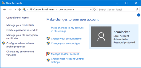 how to check if i have admin rights windows 10