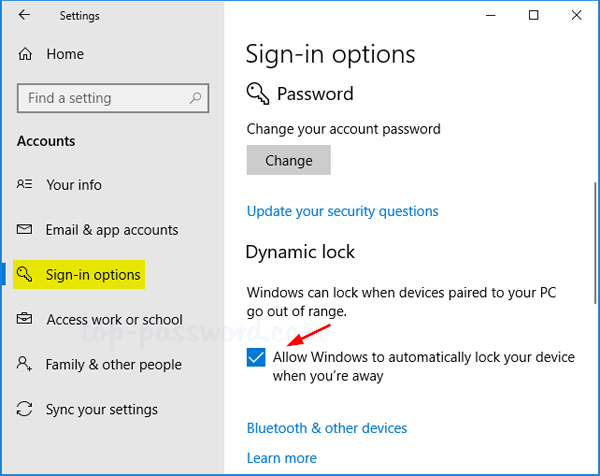 How to enable or disable dynamic lock in windows 10 for Best r value windows