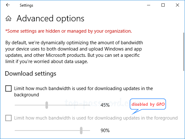 How to Set a Download Bandwidth Limit for Windows 10 Update