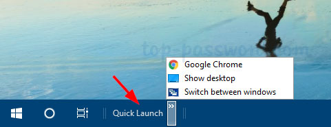 Add Program To Quick Launch Windows 10 | Password Recovery