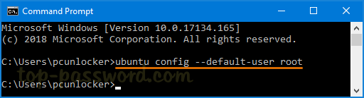 Forgot Linux Bash Password in Windows 10? How Can I Reset