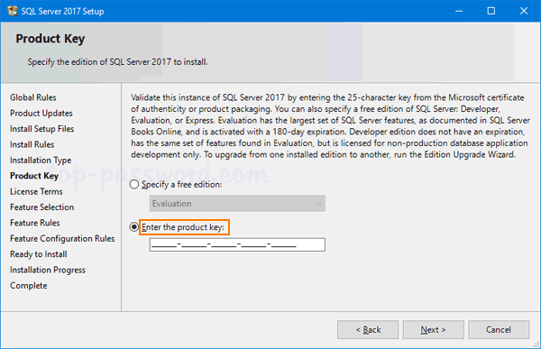 Find Lost Product Key from SQL Server 2017 / 2016 / 2014 Instance