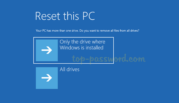 How to Reset Windows 10 Laptop, PC or Tablet without Logging in