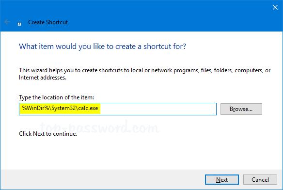 keyboard shortcuts windows 10 calculator