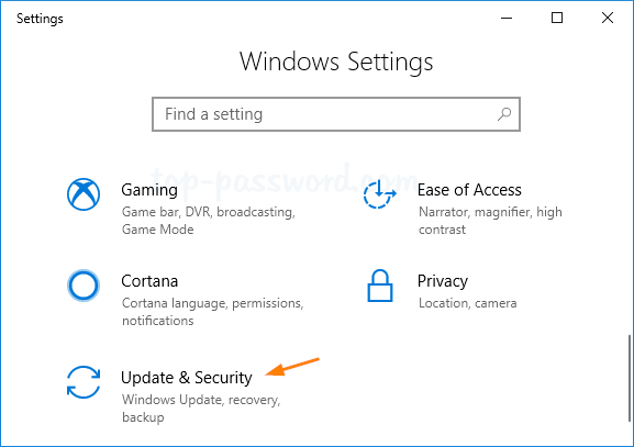 How to Factory Reset Windows 10 from Settings App | Password