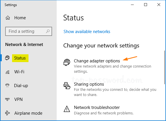 3 Ways to Open Network Connections in Windows 10 | Password