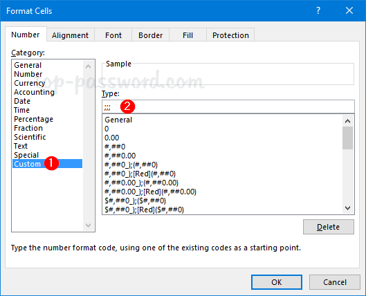 Excel 2016: How to Hide Data or Text in a Cell | Password Recovery