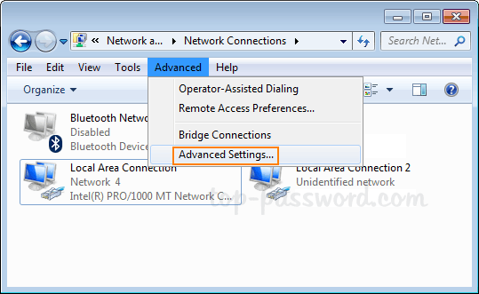 Change Priority of Wired / Wireless Network Adapter in Windows 10