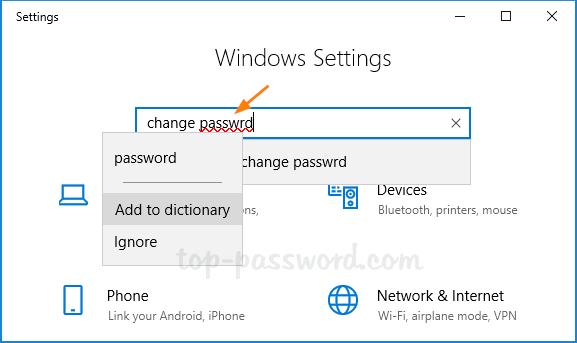 Windows 10 Autocorrect Misspelled Words | Password Recovery