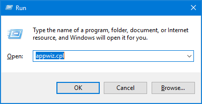 Different Ways to Open Programs and Features in Windows 10   Password Recovery