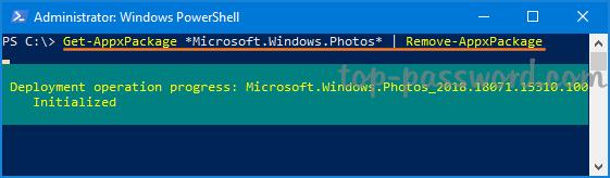 Reinstall Windows 10 Photos App   Password Recovery