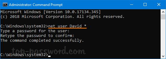 net user change password domain access denied