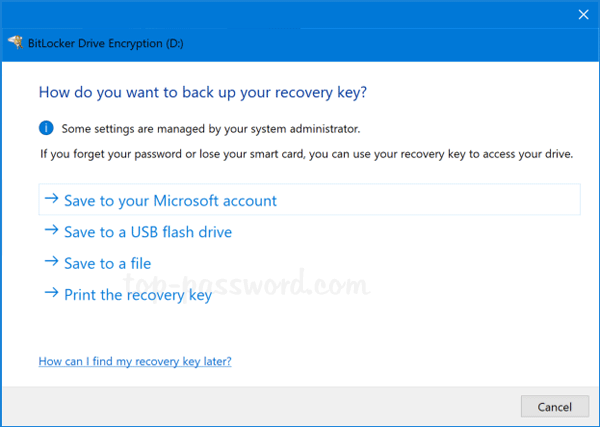 Get Bitlocker Recovery Key From Cmd | Password Recovery