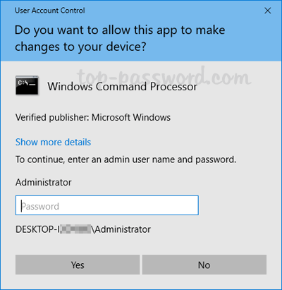how to elevate command prompt windows 10