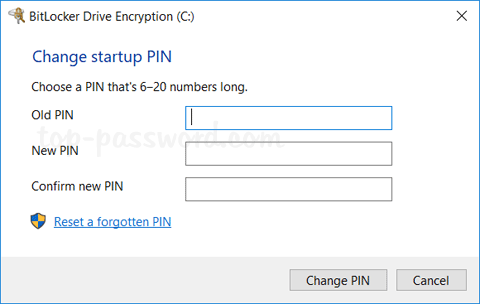 How to Change BitLocker PIN in Windows 10 | Password Recovery