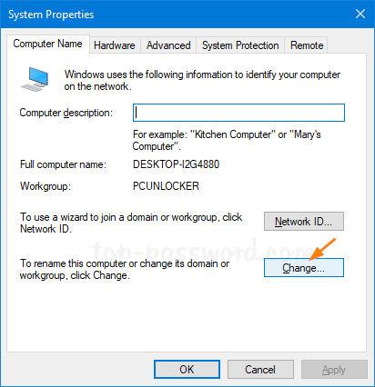 3 Ways to Change Workgroup Name in Windows 10 | Password Recovery