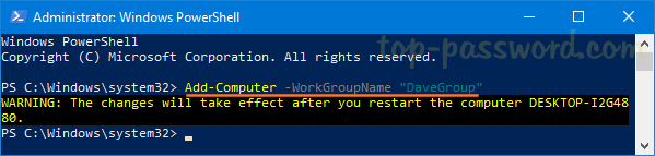 find workgroup name windows 8