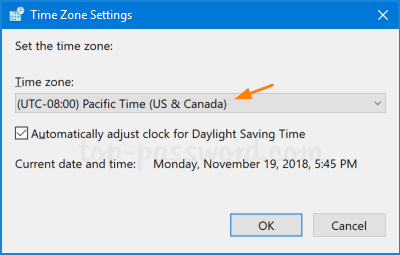 4 Ways to Change Time Zone in Windows 10 | Password Recovery