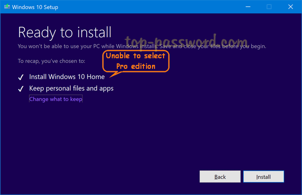 cant find windows 10 pro product key