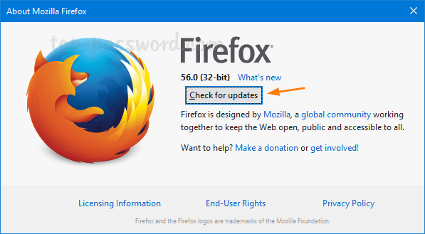 How To Stop Firefox Quantum from Updating Automatically | Password