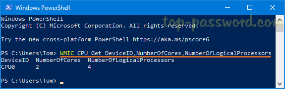 4 Ways to Find Number of Cores in your CPU on Windows 10 | Password