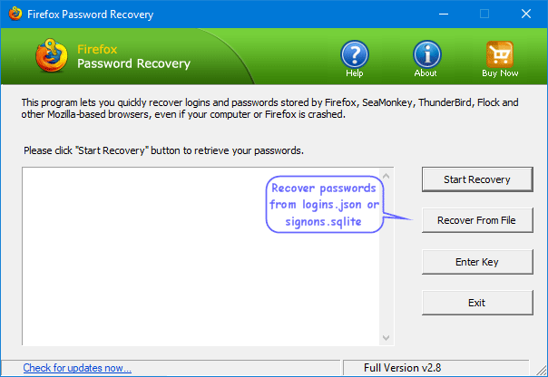 How to Recover or Export Passwords from Firefox Quantum | Password