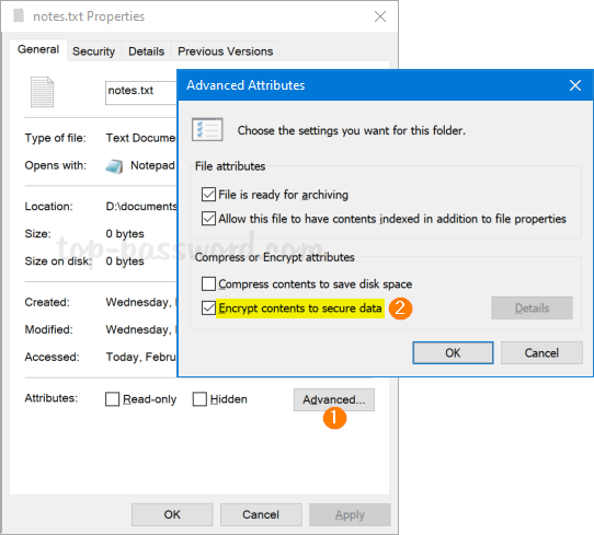 Best Ways To Password Protect Notepad Text Files In Windows 10 Password Recovery
