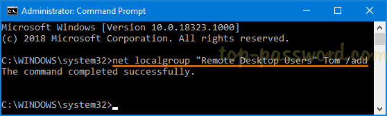 Add User to Remote Desktop Users Group in Windows 10 | Password Recovery
