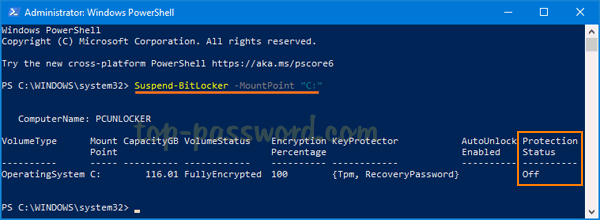 3 Methods to Suspend or Resume BitLocker Protection in