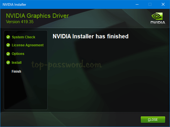 nvidia drivers not working windows 10