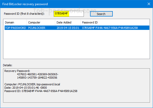 Easy Ways to Find BitLocker Recovery Key from Active