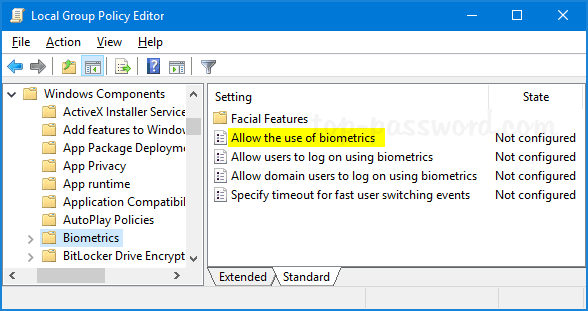 How to Disable Windows 10 Face Recognition or Fingerprint Login