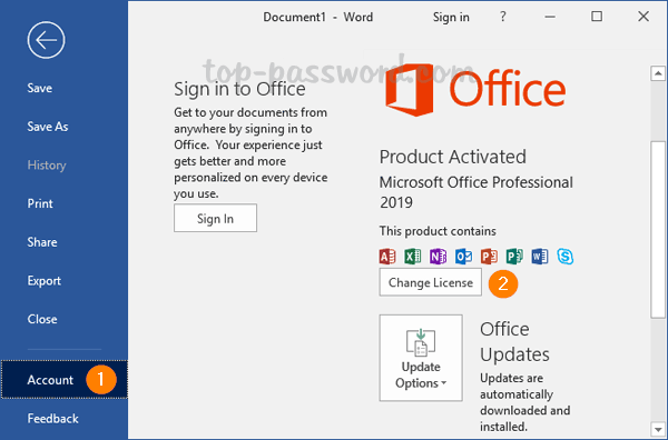 office 2016 activation key for windows 7