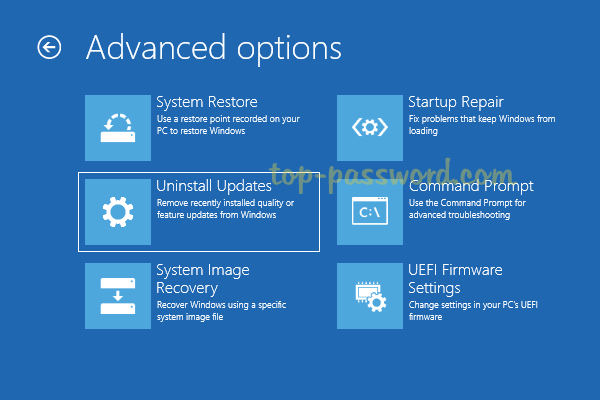 How to Uninstall Windows 10 Updates When PC Won't Boot